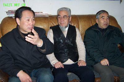 马振邦(中)、宋斌(左)、杨宝生(右)
