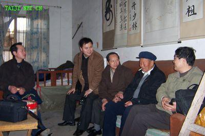 肖关纪 吴颖锋 白文祥 刘存和(右二)王培仁