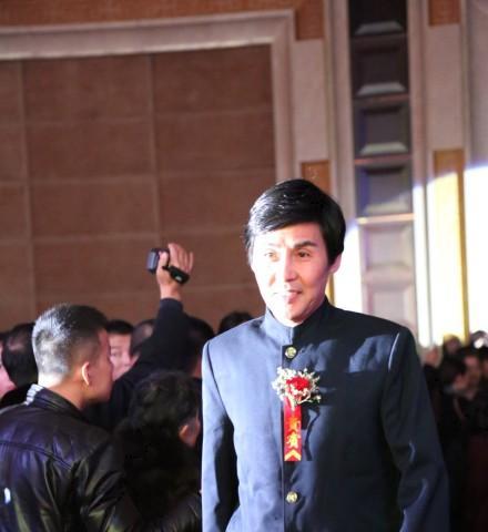 中华武星赵长军在中华武术三十年颁奖盛典上