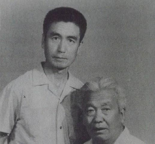 马振邦与恩师王青山大师