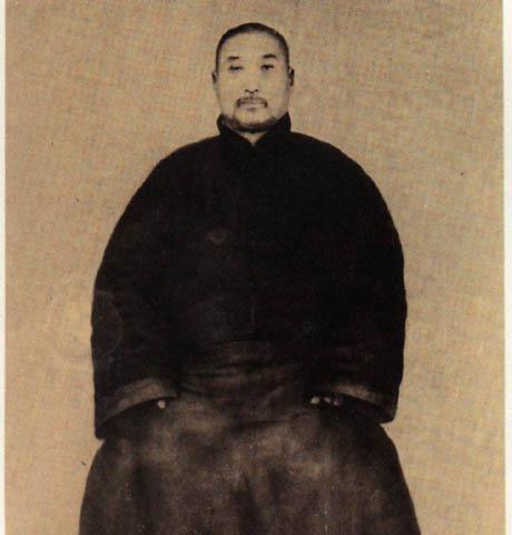 尚派形意拳大师尚云祥