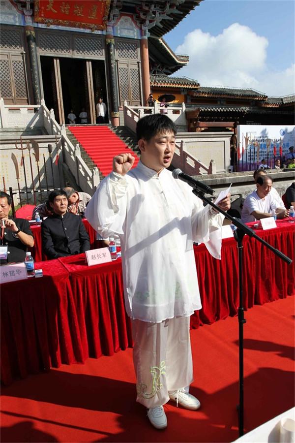 2、西立队陈斌代表运动员宣誓