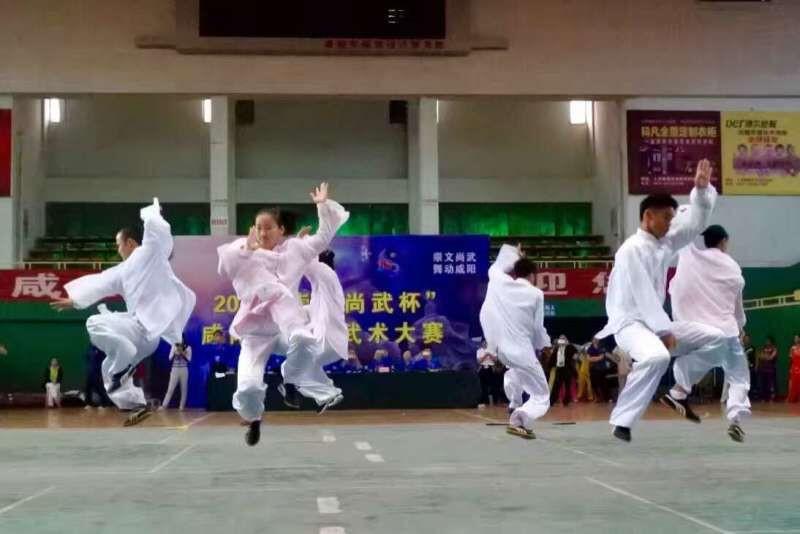 5,陕西武术专业队表演