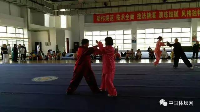 陕西举行中国武术段位制考评员资格复审测试(组图)