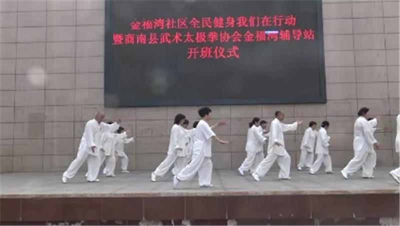 商洛市武术协会第十一个全民健身日报道 (文图(1)791