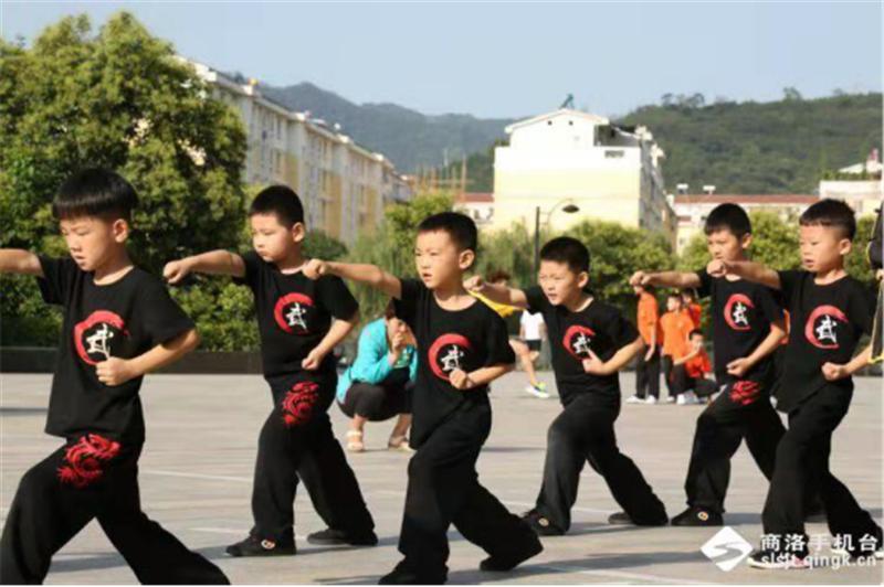 商洛市武术协会第十一个全民健身日报道 (文图(1)758