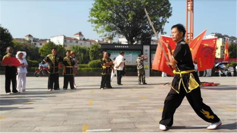 商洛市武术协会第十一个全民健身日报道 (文图(1)761