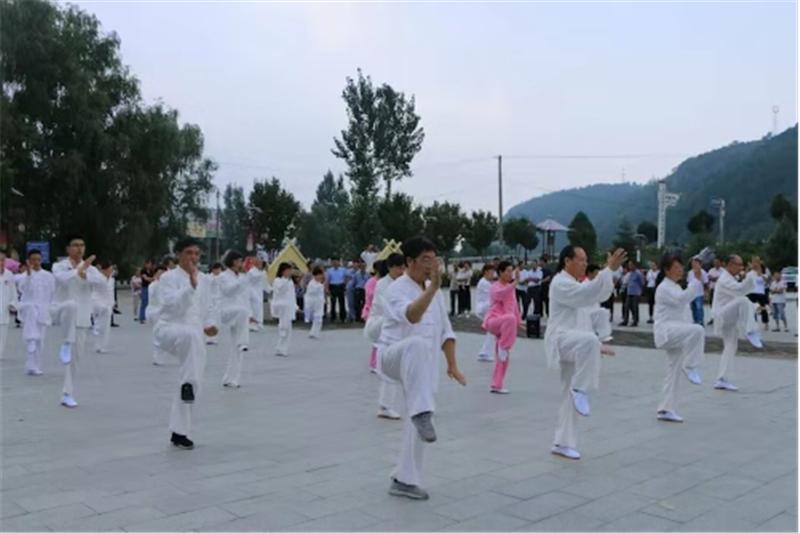 商洛市武术协会第十一个全民健身日报道 (文图(1)773