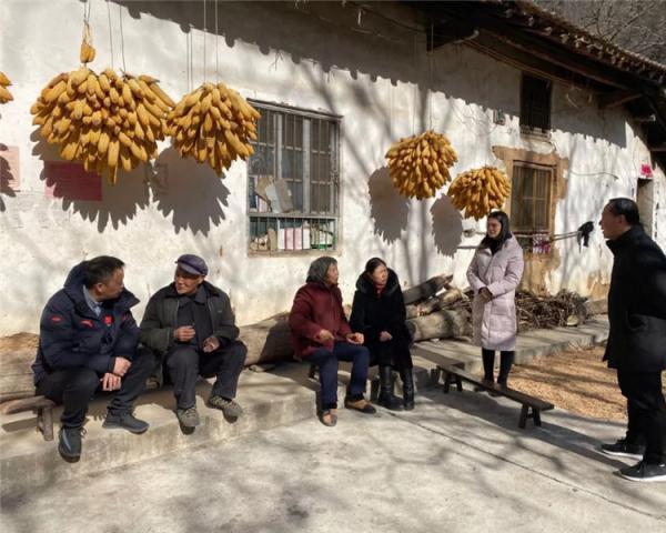 省武管中心领导干部赴贫困山区开展春节扶贫慰问活动