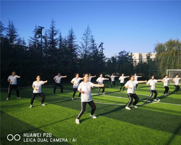 商洛武协举办八段锦培训班