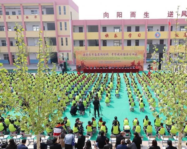 省武协武术人才培养基地在临潼栎阳揭牌 全运冠军助力武术进校园